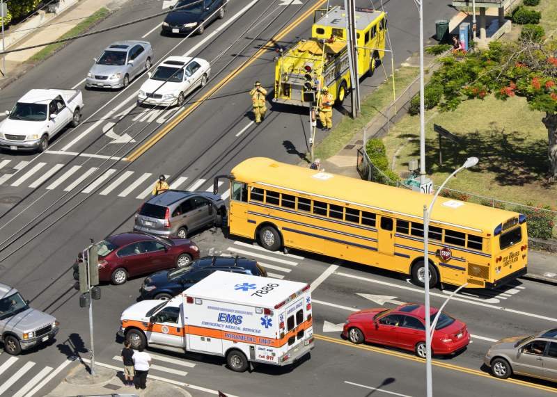 Who Is At Fault - Chain Reaction Vehicle Accidents - Multi