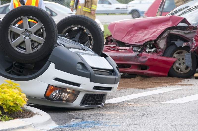 car wrecks at intersections