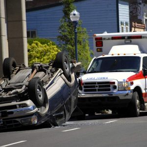 injured passenger in a car accident